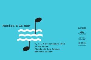 Cartel Música a la Mar