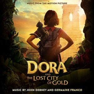 Carátula BSO Dora and the Lost City of Gold - John Debneyy Germaine Franco