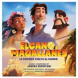Carátula BSO Elcano y Magallanes, la primera vuelta al mundo - Joseba Beristain