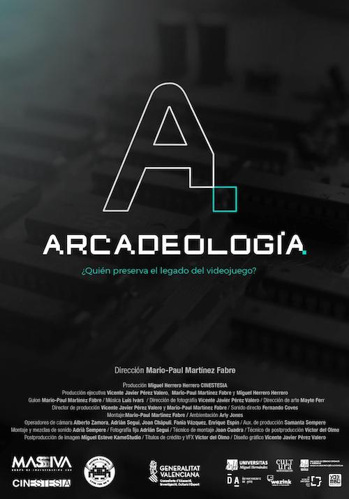 Luis Ivars para el documental Arcadeología