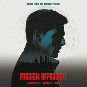 Carátula BSO Mission: Impossible - Danny Elfman