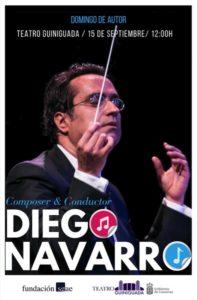Cartel Domingo de Autor - Diego Navarro