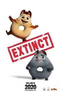 Póster Extinct