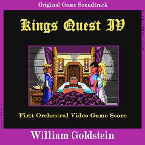 Carátula BSO King's Quest IV - William Goldstein