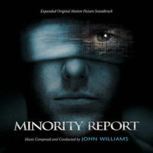 Carátula BSO Minority Report - John Williams