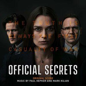 Carátula BSO Official Secrets - Paul Hepker y Mark Kilian