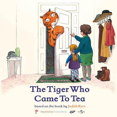 David Arnold para la cinta de animación The Tiger Who Came to Tea