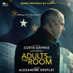 Carátula BSO Adults in the Room - Alexandre Desplat