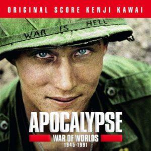 Carátula BSO Apocalypse War of Worlds 1945 – 1991 - Kenji Kawai
