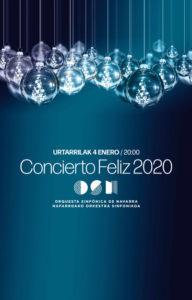 Cartel Concierto FELIZ 2020
