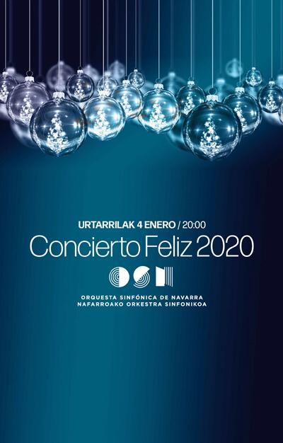 Concierto especial Feliz 2020 de la Orquesta Sinfónica de Navarra