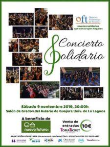 Cartel Concierto Solidario