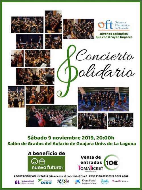 Concierto Solidario de la OFT con Diego Navarro