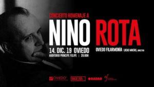 Cartel Concierto homenaje a Nino Rota