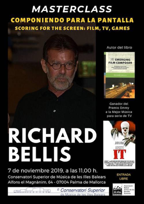 Masterclass de Richard Bellis dentro del 30º aniversario de ABABS