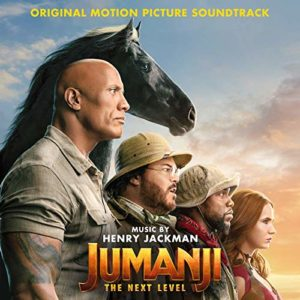 Carátula BSO Jumanji: The Next Level - Henry Jackman