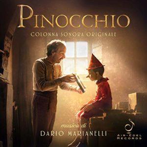 Carátula BSO Pinocchio - Dario Marianelli