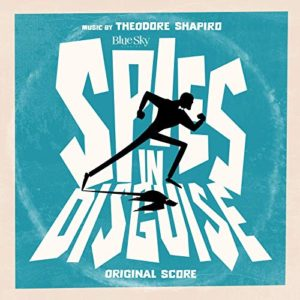 Carátula BSO Spies in Disguise - Theodore Shapiro