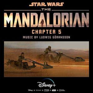 Carátula BSO The Mandalorian: Chapter 5 - Ludwig Göransson