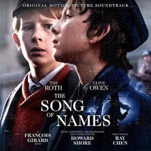 Carátula BSO The Song Of Names - Howard Shore