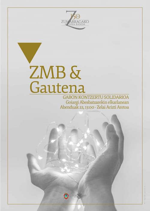 Concierto solidario de la Zumarragako Musika Banda