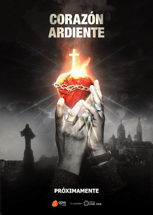 Jesús Calderón para la película documental Corazón Ardiente