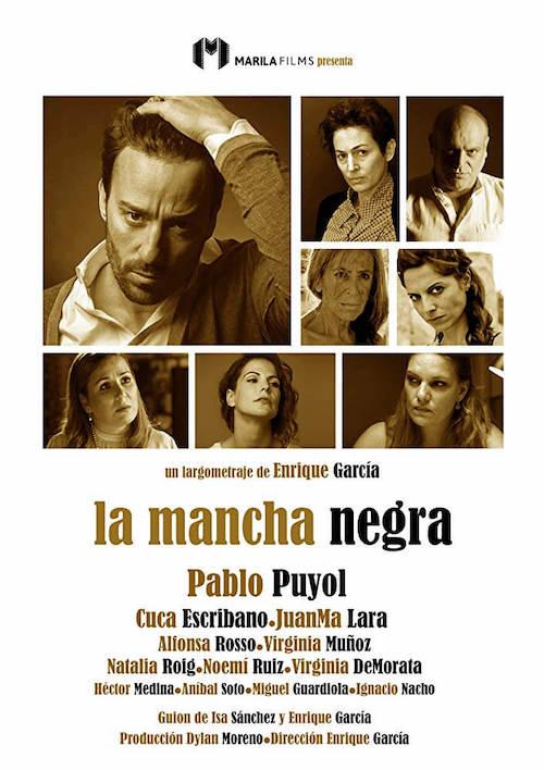 Jesús Calderón para el thriller dramático La Mancha Negra
