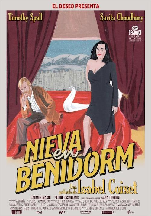 Alfonso Vilallonga para el thriller Nieva en Benidorm