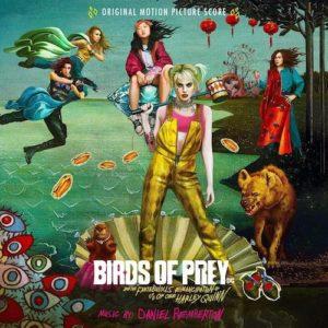 Carátula BSO Birds of Prey - Daniel Pemberton