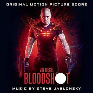 Carátula BSO Bloodshot - Steve Jablonsky