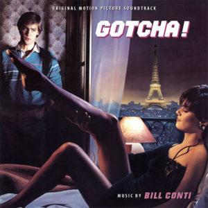 Carátula BSO Gotcha! - Bill Conti