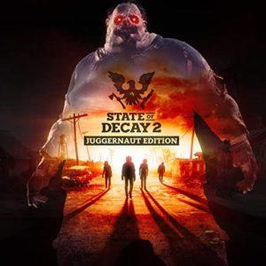 Carátula BSO State of Decay 2 (Juggernaut Edition) - Jesper Kyd & Dreissk