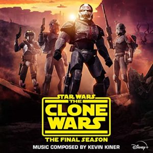 Carátula BSO Star Wars: The Clone Wars - The Final Season (Episodes 1-4) - Kevin Kiner