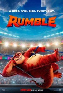 Póster Rumble