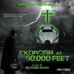 Carátula BSO Exorcism at 60,000 Feet - Richard Band