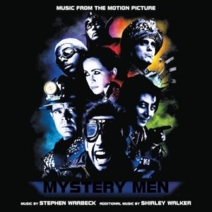 Carátula BSO Mystery Men - Stephen Warbeck y Shirley Walker