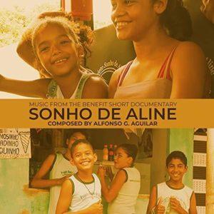Carátula BSO Sonho de Aline - Alfonso G. Aguilar