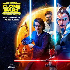 Carátula BSO Star Wars The Clone Wars: The Final Season (Episodes 9-12) - Kevin Kiner