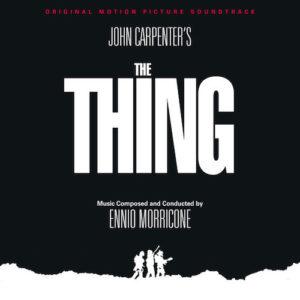 Carátula BSO The Thing - Ennio Morricone