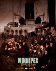 Póster Winnipeg, el barco de la esperanza