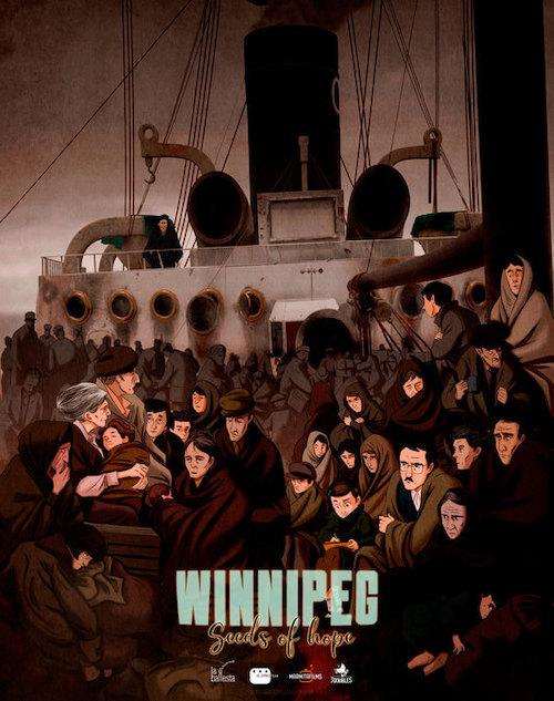 Diego Navarro para la cinta de animación Winnipeg, el barco de la esperanza