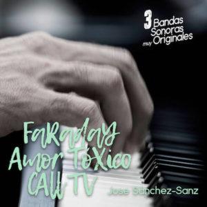 Carátula BSO 3 Bandas Sonoras muy Originales - José Sánchez-Sanz