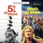 Carátula BSO 5% de Risque & Demain Les Mômes - Éric Demarsan