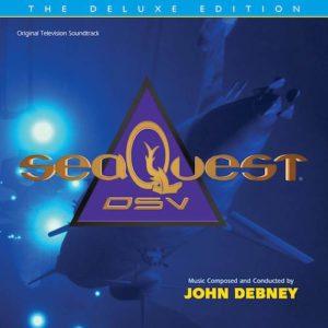 Carátula BSO SeaQuest DSV - John Debney