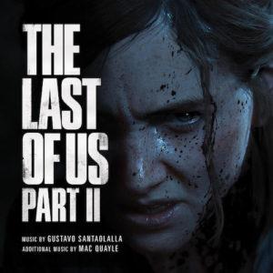 Carátula BSO The Last of Us Part II - Gustavo Santaolalla y Mac Quayle