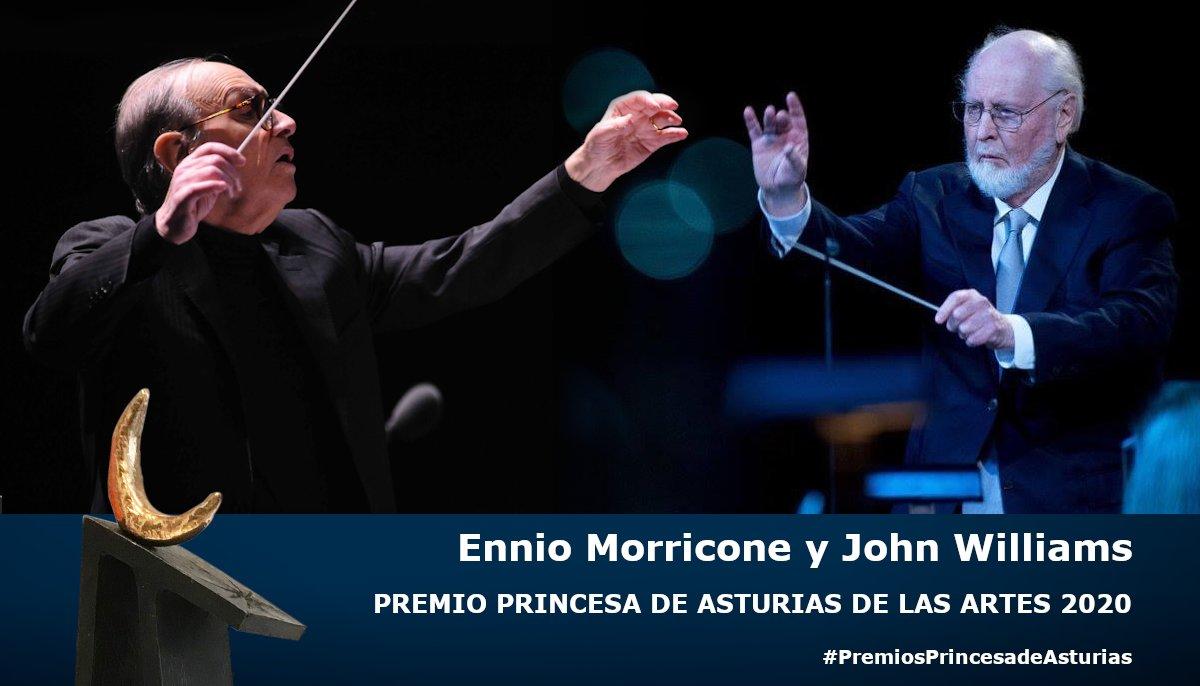 John Williams y Ennio Morricone Premios Princesa de Asturias de las Artes 2020