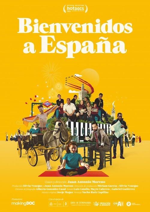 Jorge Magaz para el documental Bienvenidos a España