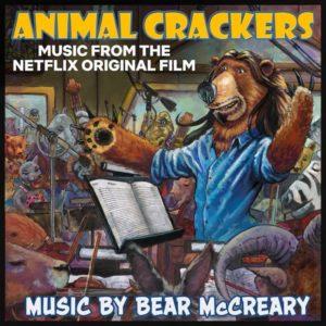 Carátula BSO Animal Crackers - Bear McCreary