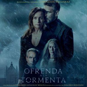 Carátula BSO Ofrenda a la tormenta - Fernando Velázquez