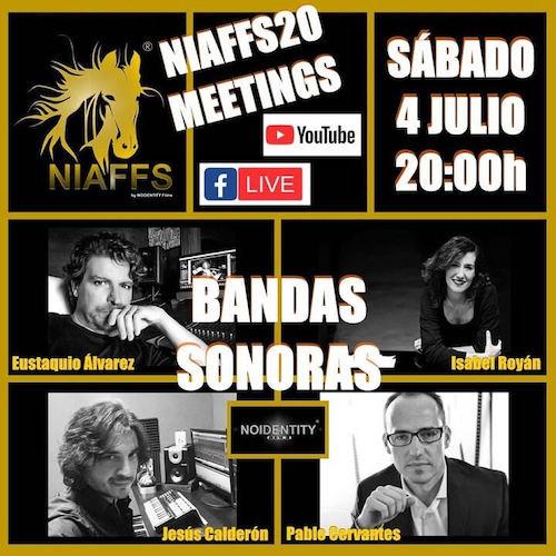 Coloquio online sobre Bandas Sonoras en el NIAFFS20